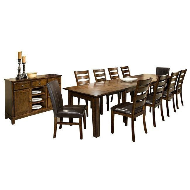 Amazing Kona Expandable Formal Dining Room Set Customarchery Wood Chair Design Ideas Customarcherynet