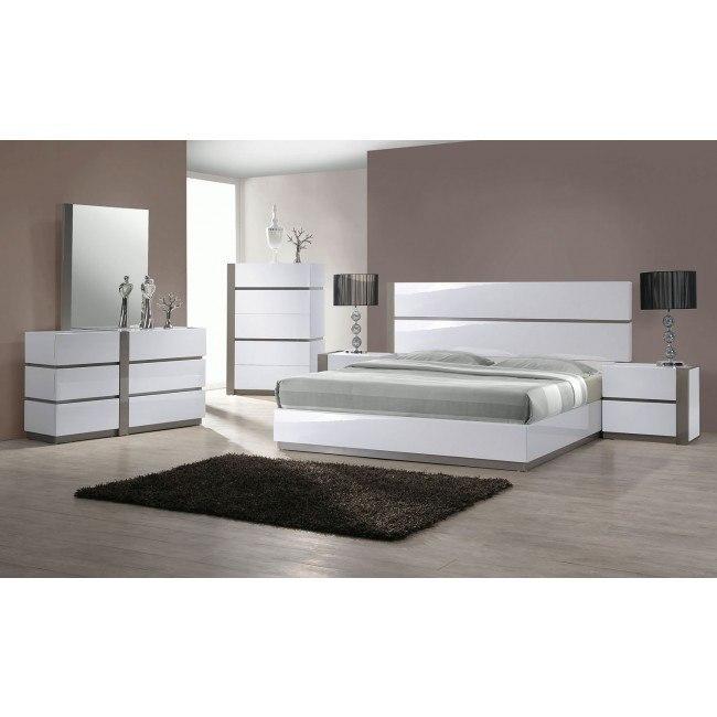 Manila Platform Bedroom Set Chintaly Imports 1 Reviews Furniture Cart