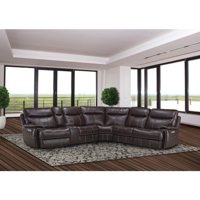 Cool Dylan Modular Power Reclining Sectional Set Mahogany Squirreltailoven Fun Painted Chair Ideas Images Squirreltailovenorg