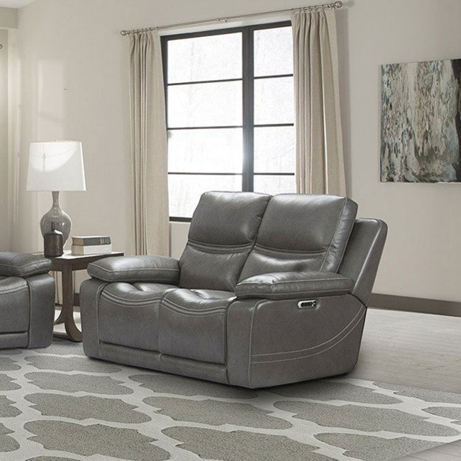 Outstanding Palmer Power Reclining Loveseat W Power Headrests And Lumbar Ibusinesslaw Wood Chair Design Ideas Ibusinesslaworg