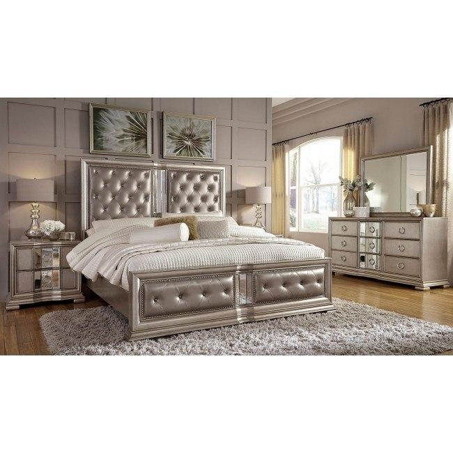 Couture Panel Bedroom Set Pulaski Furniture Furniture Cart