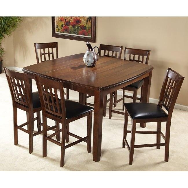 Jordan Counter Height Dining Room Set Cramco Furniture Cart