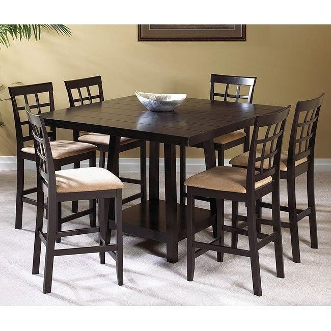 Shayne Counter Height Dining Room Set