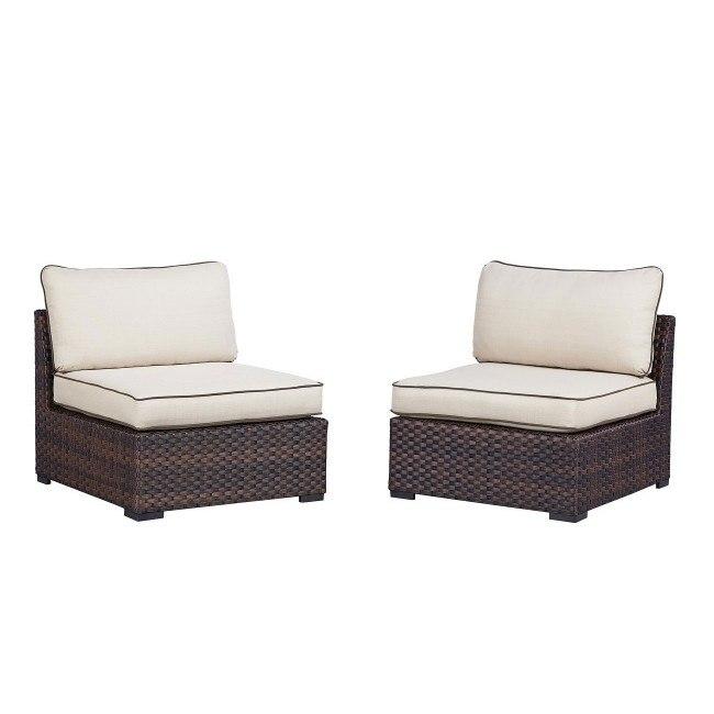 Magnificent Renway Armless Chair Set Of 2 Creativecarmelina Interior Chair Design Creativecarmelinacom
