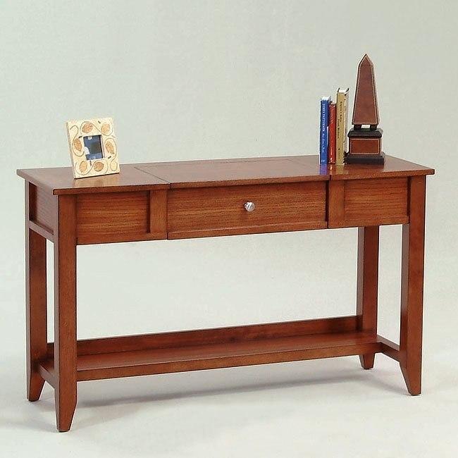 Coral Gables Sofa Table W Power Strip Progressive