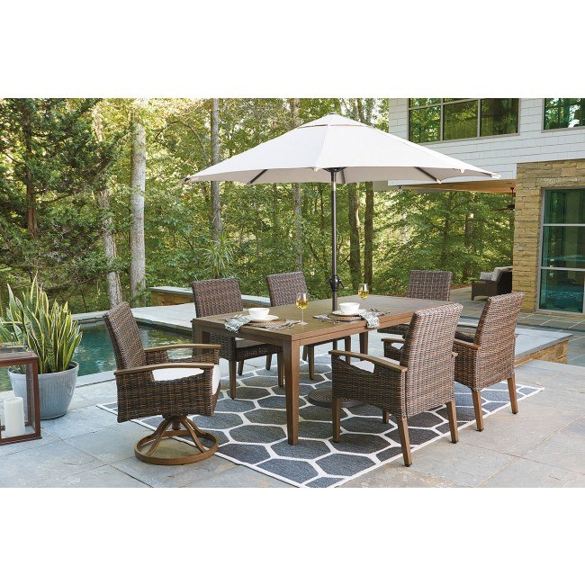 Paradise Trail Outdoor Dining Set W