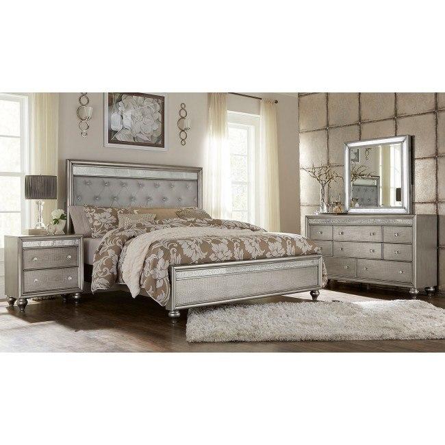 Posh Panel Bedroom Set