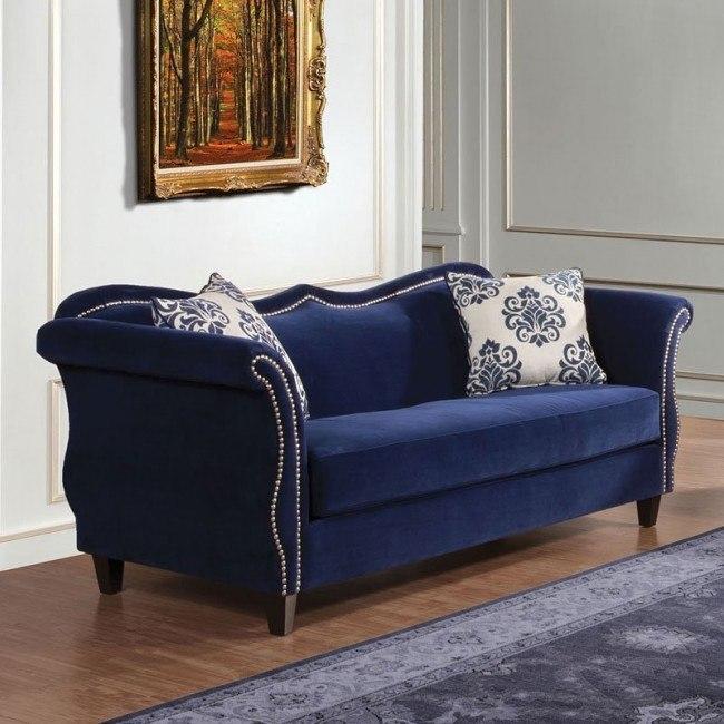 Zaffiro Sofa Lavender Furniture Of