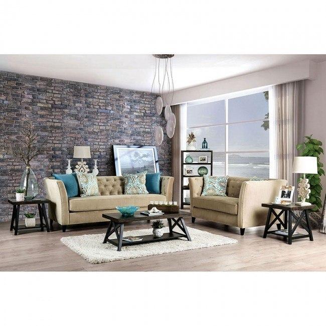 Monaghan Living Room Set (Camel)