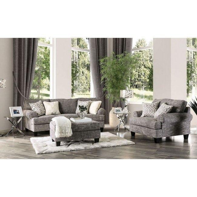 Pierpont Living Room Set (Gray)