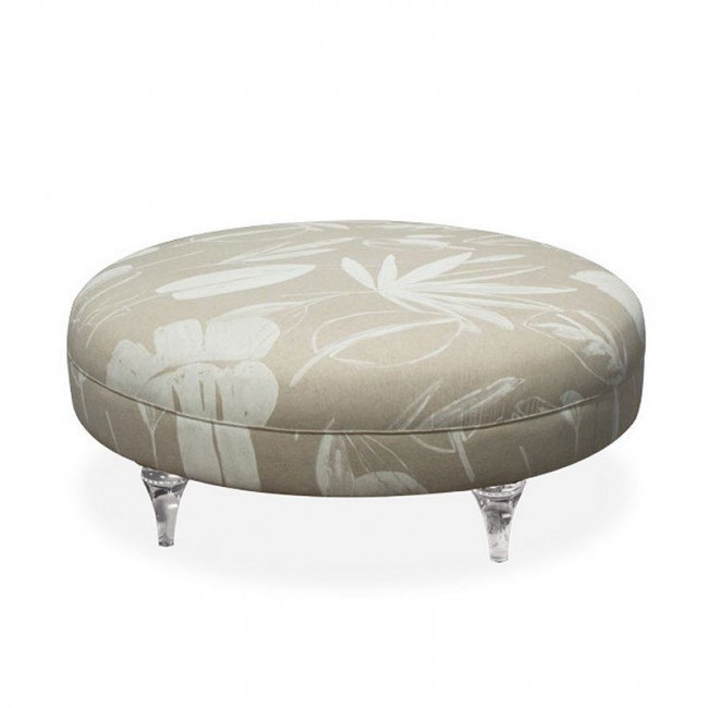 Prime Studio Harlow Round Cocktail Ottoman Oat Onthecornerstone Fun Painted Chair Ideas Images Onthecornerstoneorg