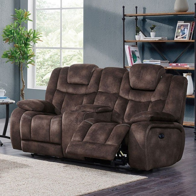 Remarkable U1706 Power Reclining Loveseat W Console Ocoug Best Dining Table And Chair Ideas Images Ocougorg