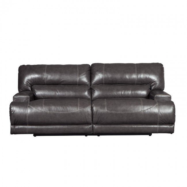 Excellent Mccaskill Gray Reclining Sofa Pabps2019 Chair Design Images Pabps2019Com