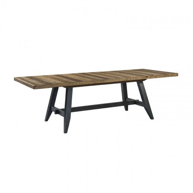 Urban Rustic Rectangular Dining Table