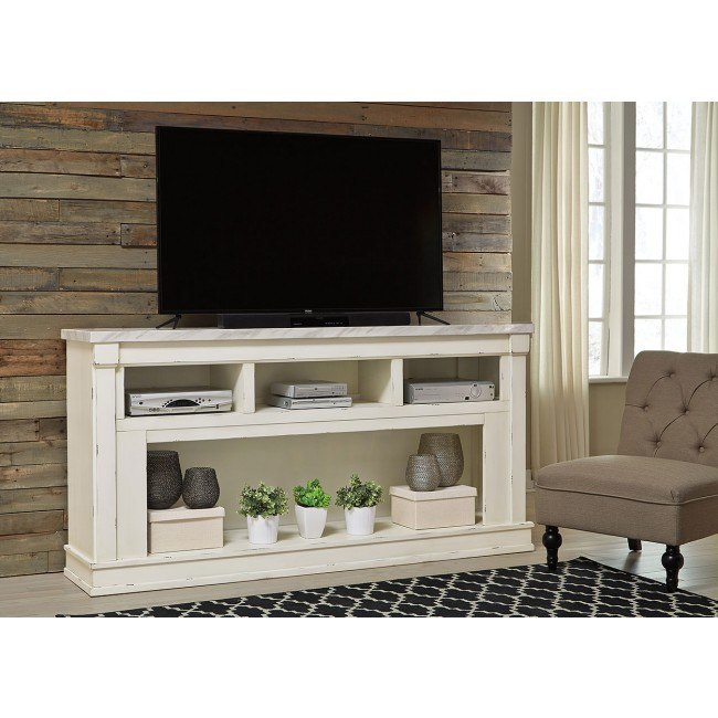 Becklyn Extra Large TV Stand Signature Design