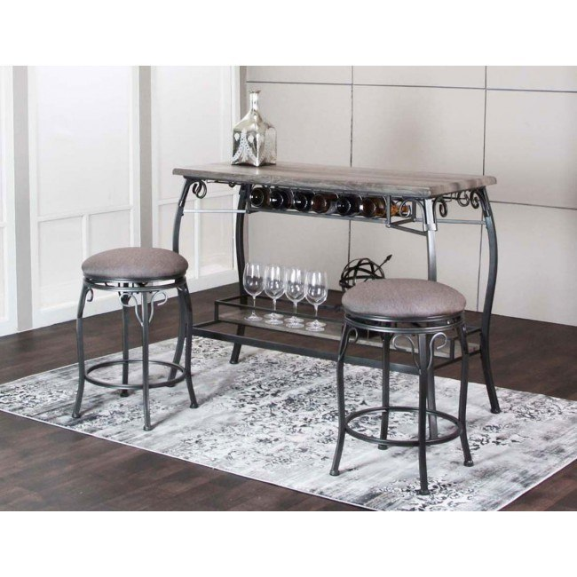 Sprite 3 Piece Pub Table Set Cramco