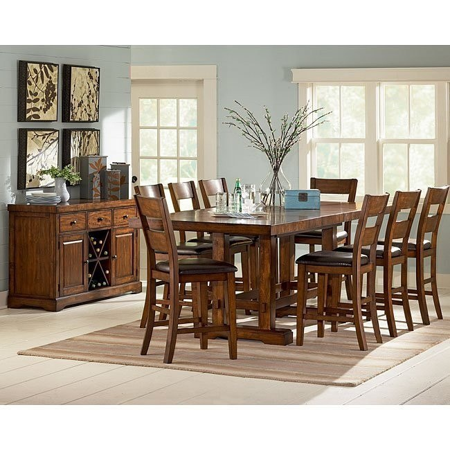 Za Counter Height Dining Room Set