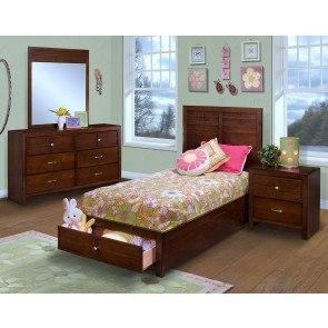 Lulu Bedroom Set W Loft Storage Bed Signature Design 2