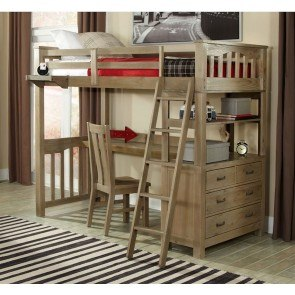 Stages Twin Twin Bunk Bed Signature Design Furniture Cart