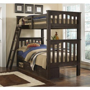 Meadowbrook Bunk Bed With Trundle White Samuel Lawrence