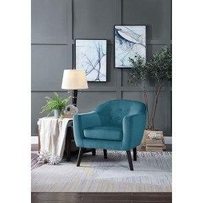 Autumn Leaves Accent Chair Coaster Furniture Furniture Cart