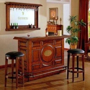 Elegant Guinness Raised Panel Bar Set · ECI Furniture