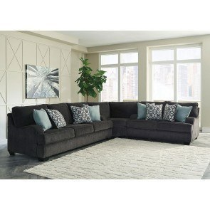 Chamberly Alloy Modular Sectional W Chaise Signature