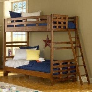 White Triple Twin Bunk Bed Coaster Furniture Furniture Cart