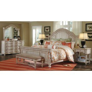 Piroska Bedroom Set W Upholstered Bed Signature Design
