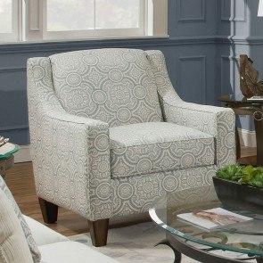 Laken Mocha Oversized Swivel Accent Chair Signature Design