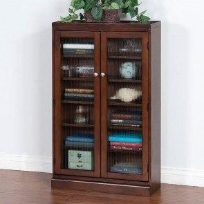 Superbe Cappuccino CD/DVD Cabinet