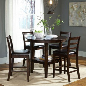 Challiman Bar Table Set Signature Design Furniture Cart