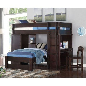 Kids Loft And Bunk Beds With Loft Bed Type Furniture Cart