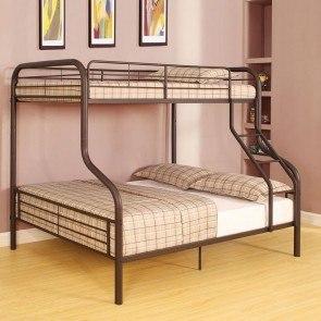 Lulu Twin Over Full Loft Bed Signature Design Furniture Cart