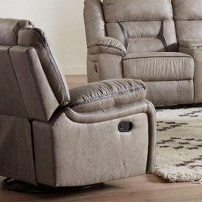 Masoli Cobblestone Oversized Swivel Accent Chair