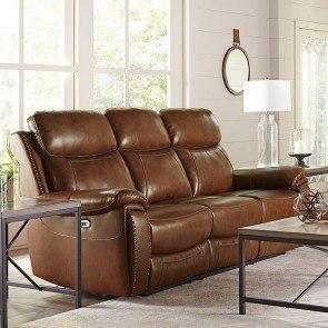Voyager Lay Flat Triple Reclining Sofa W Power Catnapper