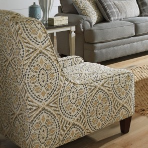 Pearlized White Accent Chair Coaster Furniture Furniture