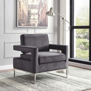 Hidden Treasures Leather Rocker Chair Hammary Furniture Cart