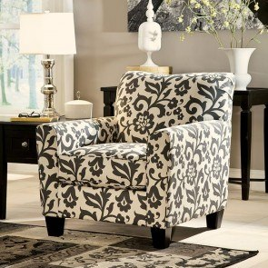 Laken Mocha Oversized Swivel Accent Chair Signature Design