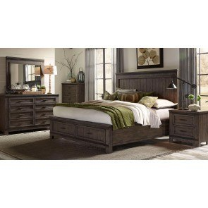 Elkin Valley Panel Bedroom Set Magnussen Furniture Cart