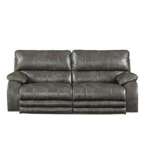 Hogan Mocha 2 Seat Reclining Sofa Signature Design 3