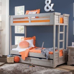 Stages Storage Loft Bed W Right Steps Signature Design