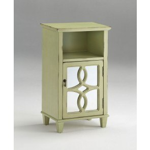 Teal Blue Accent Cabinet Coaster Furniture Furniture Cart