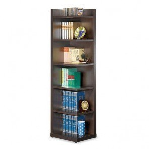 Contemporary Asymmetrical Bookcase Coaster Furniture