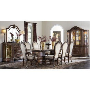 Vendome 60 Inch Round Dining Table Cherry Acme Furniture