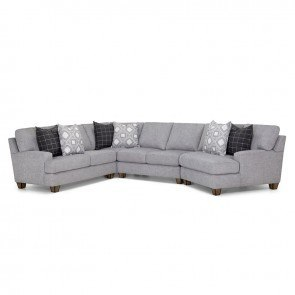 Fletcher Right Facing Chaise Sectional Gannon Chipotle