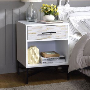 Toscana Chairside End Table Signature Design Furniture Cart