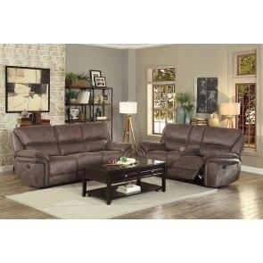 Zella Charcoal Sectional Living Room Set Signature