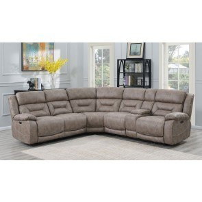 Katisha Platinum Large Modular Sectional W Chaise