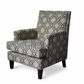 Breville Burlap Accent Chair Benchcraft Furniture Cart